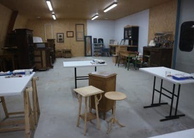 vue d'ensemble de l'atelier