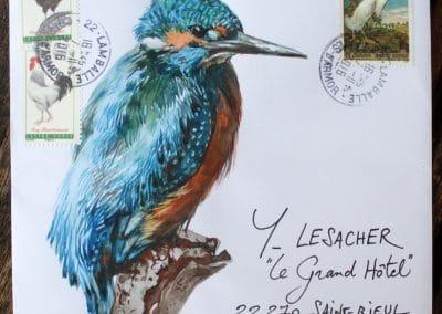 Yann Lesacher, la Bretagne par les contours