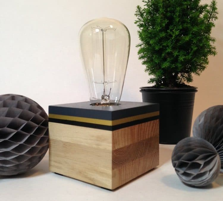Lampes Fox Perry : Handmade in Breizh