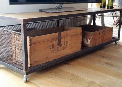Un meuble TV sur-mesure
