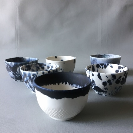 Le porcelaines de la créatrice Catherine Trochu